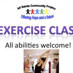 Exercise Class: 2019: New members welcome!
