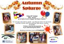 Autumn Splurge Fri 26th October 10-12 noon