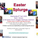 Easter Splurge 2020 – currently postponed