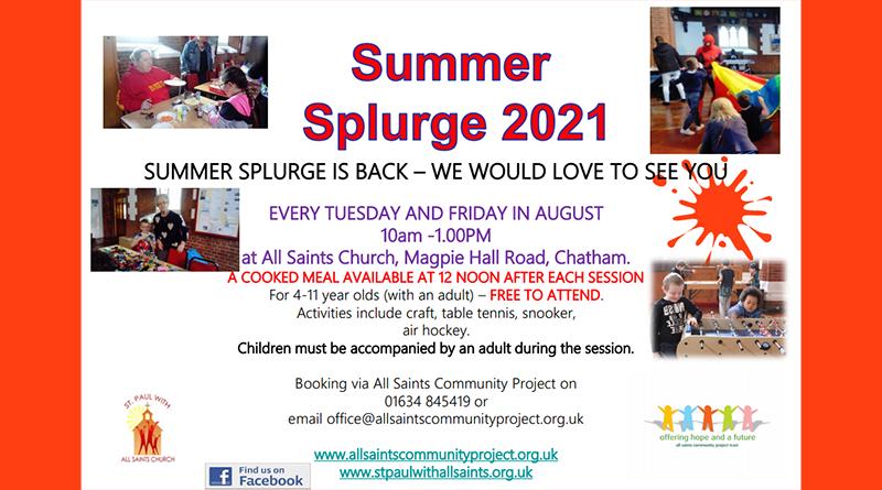 Summer Splurge 2021